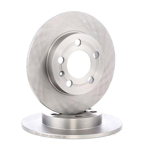Bremsscheiben 82B0691 unschlagbar günstig bei RIDEX Auto-doc.ch