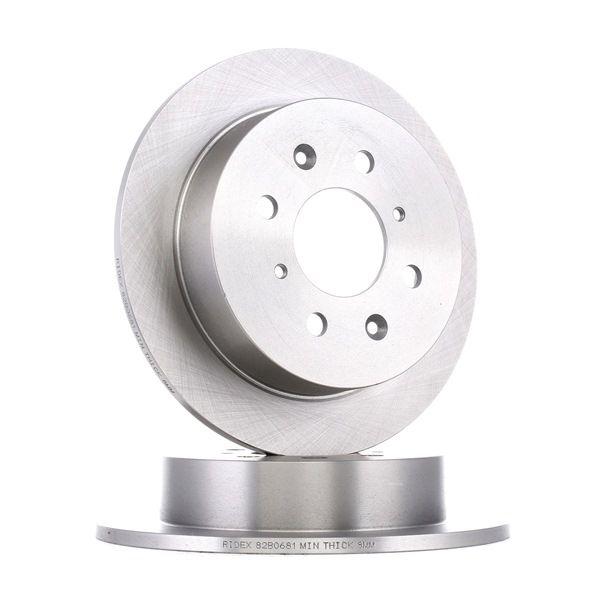Bremsscheibe RIDEX 82B0681 kaufen und wechseln
