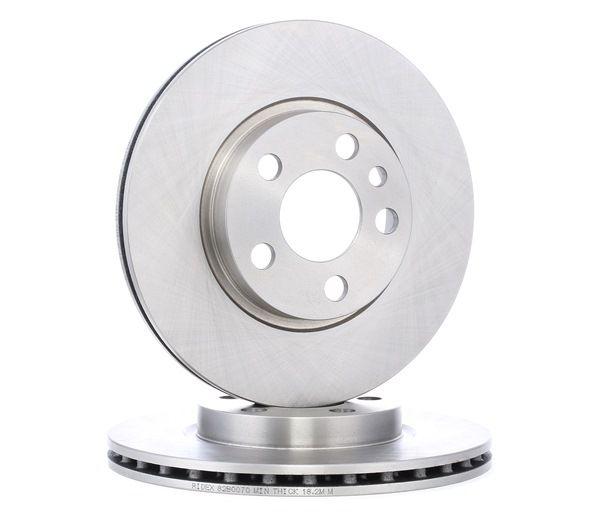 Compre e substitua Disco de travão RIDEX 82B0070