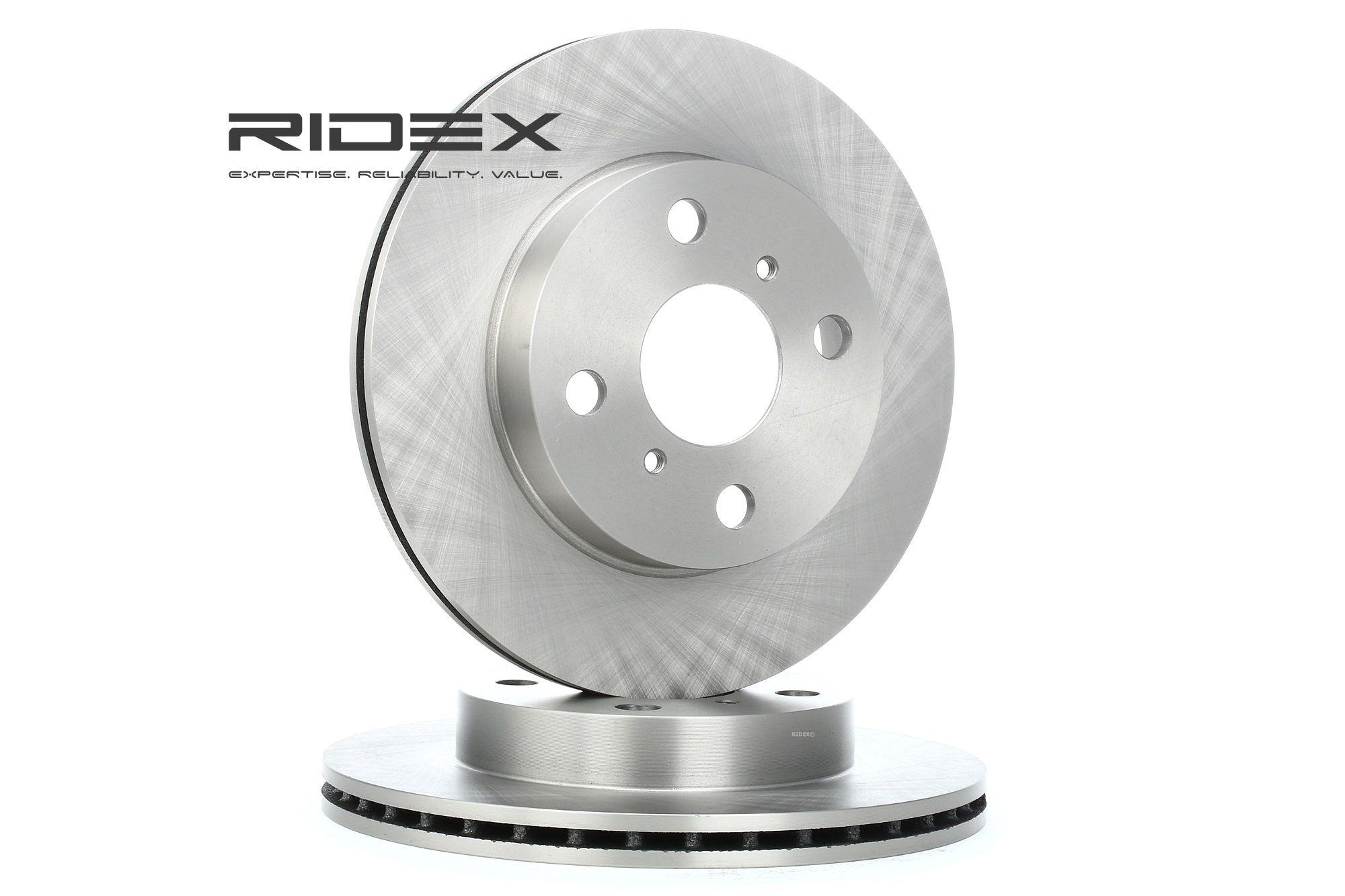 RIDEX: Original Scheibenbremsen 82B0402 (Ø: 235mm, Bremsscheibendicke: 18,0mm)