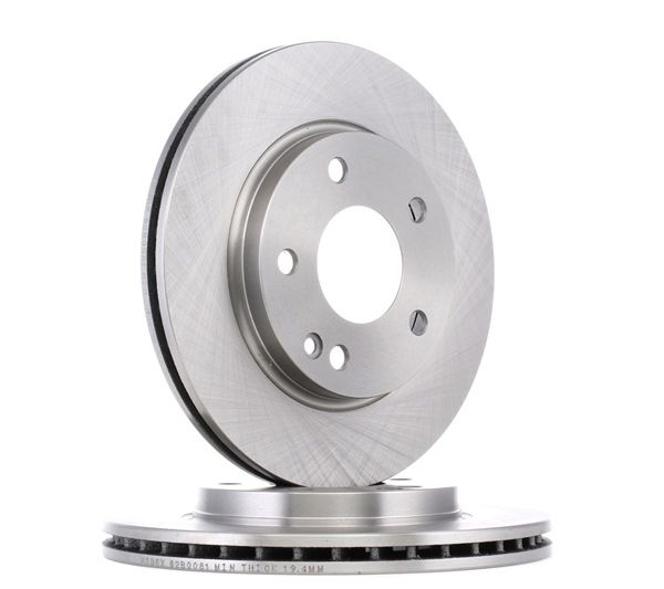 Brake Disc 82B0081 with an exceptional RIDEX price-performance ratio