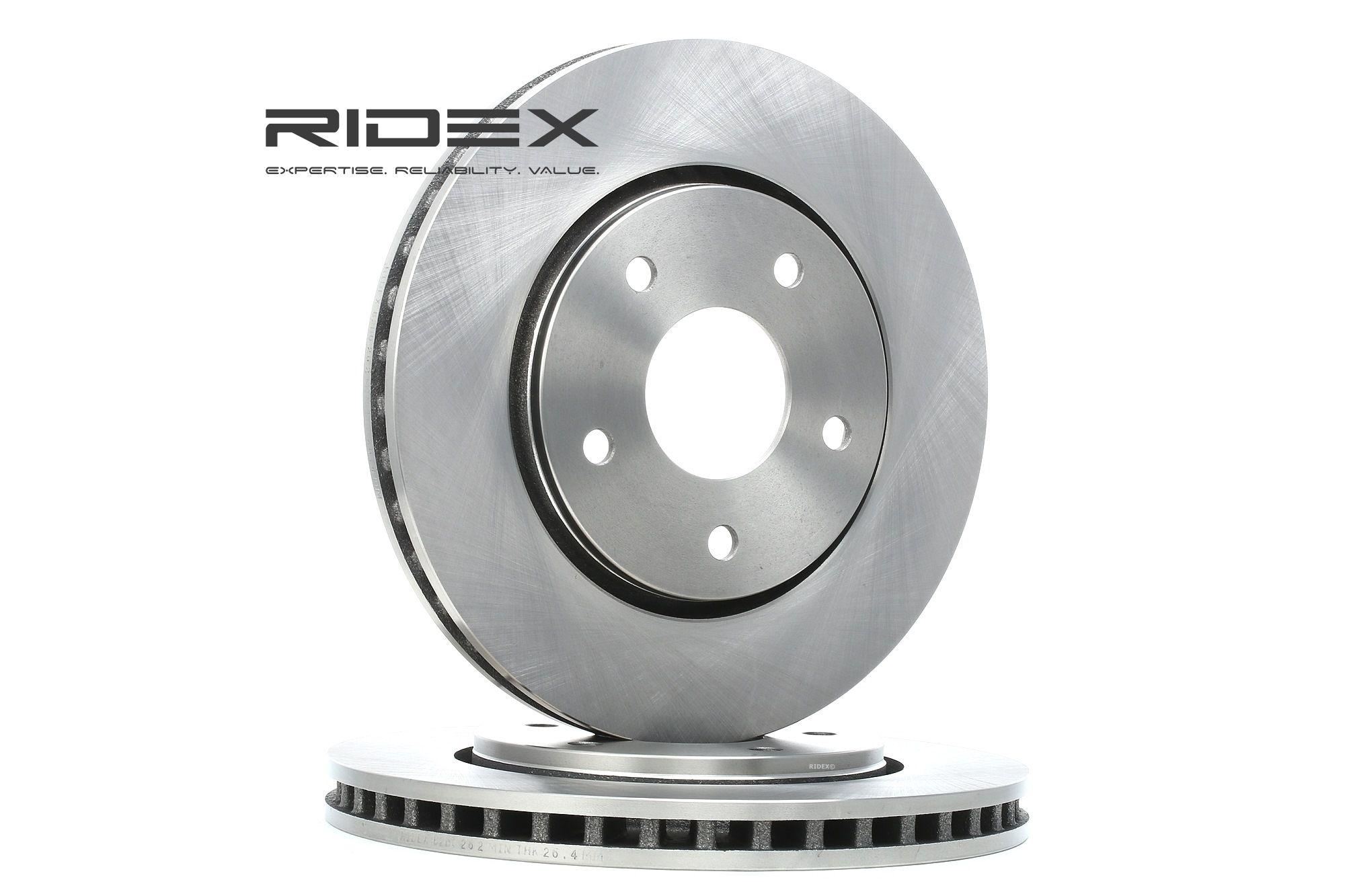 RIDEX: Original Bremsscheiben 82B0262 (Ø: 302,0mm, Bremsscheibendicke: 28mm)