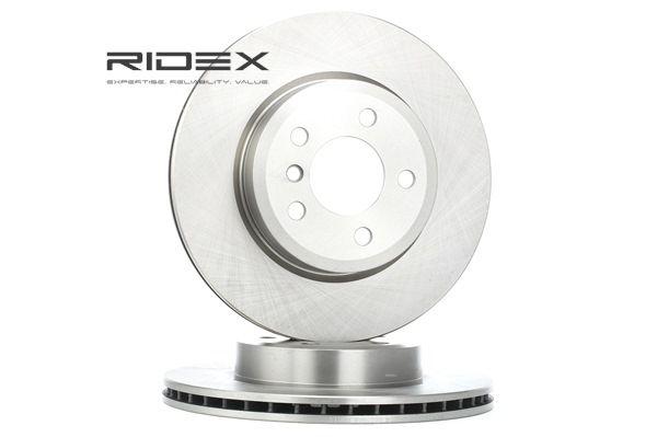 Disco de travão 82B0205 com uma excecional RIDEX relação preço-desempenho