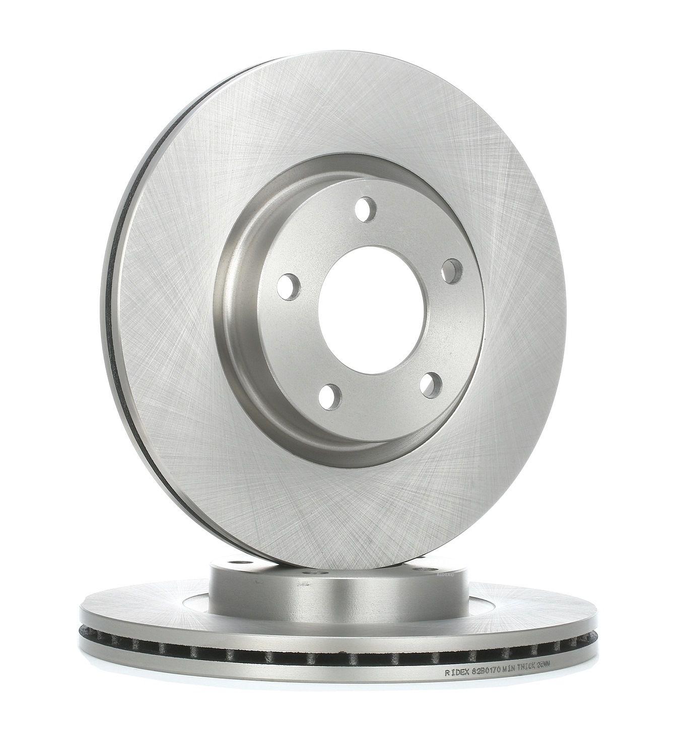 RIDEX: Original Scheibenbremsen 82B0170 (Ø: 300,0mm, Bremsscheibendicke: 25mm)