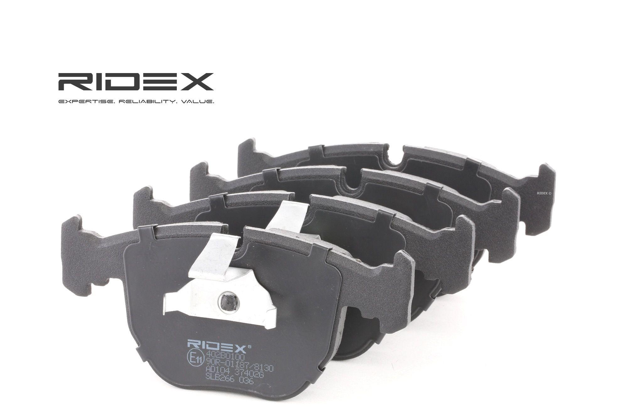 Buy original Disk pads RIDEX 402B0100