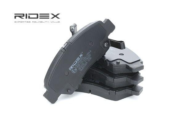 Bremsbelagsatz, Scheibenbremse RIDEX 402B0081 günstige Verschleißteile kaufen