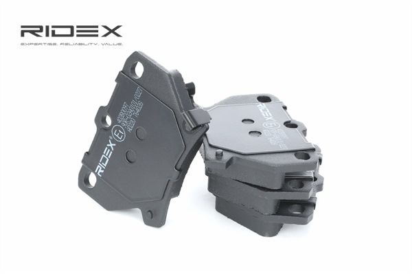 Koop en vervang Remblokkenset, schijfrem RIDEX 402B0097