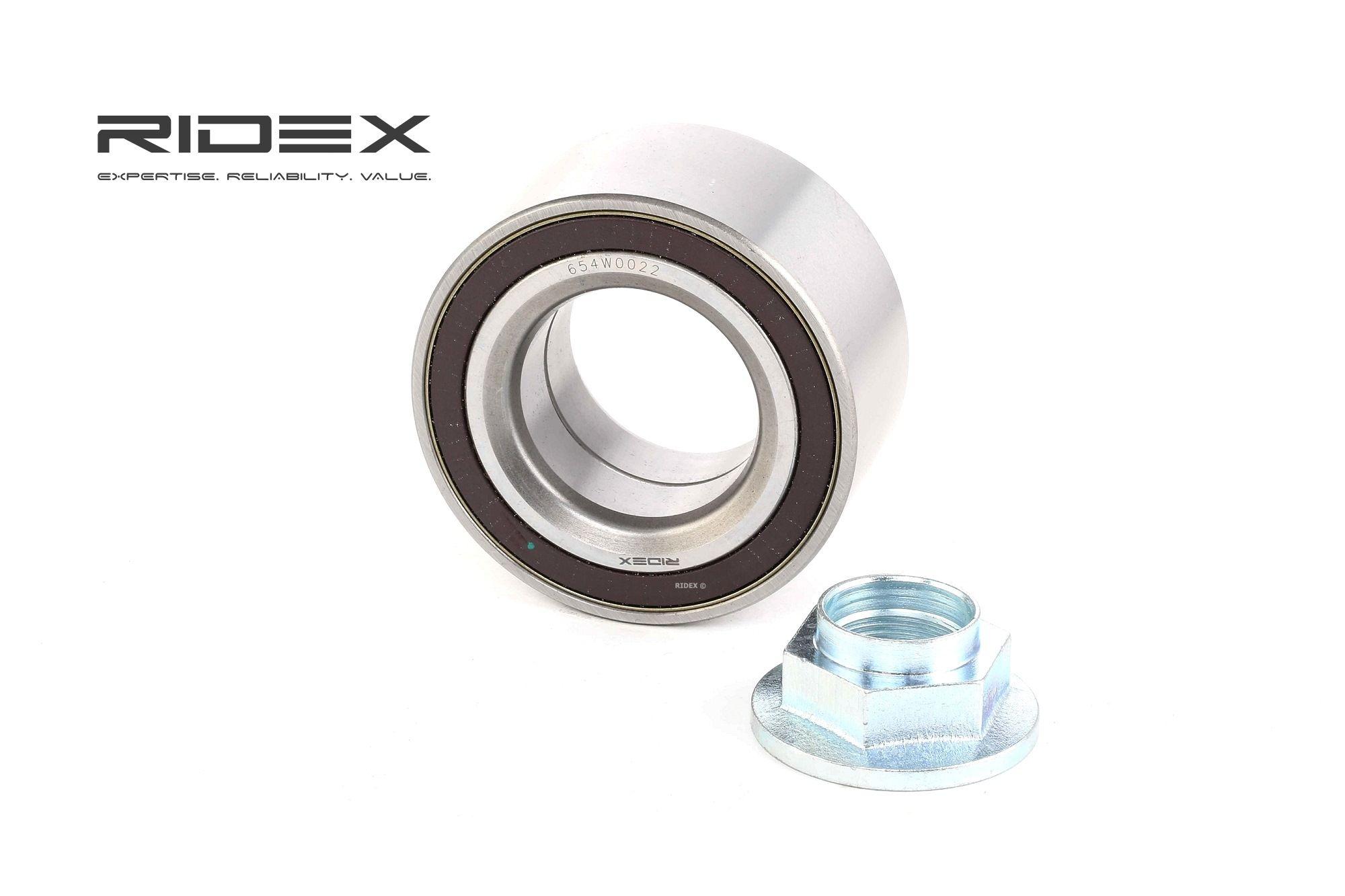 RIDEX: Original Lager 654W0022 (Ø: 75,00mm, Innendurchmesser: 40,00mm)