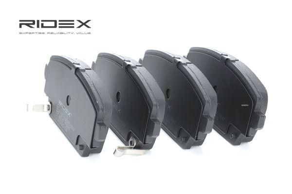 комплект спирачно феродо, дискови спирачки RIDEX 402B0135 купете и заменете