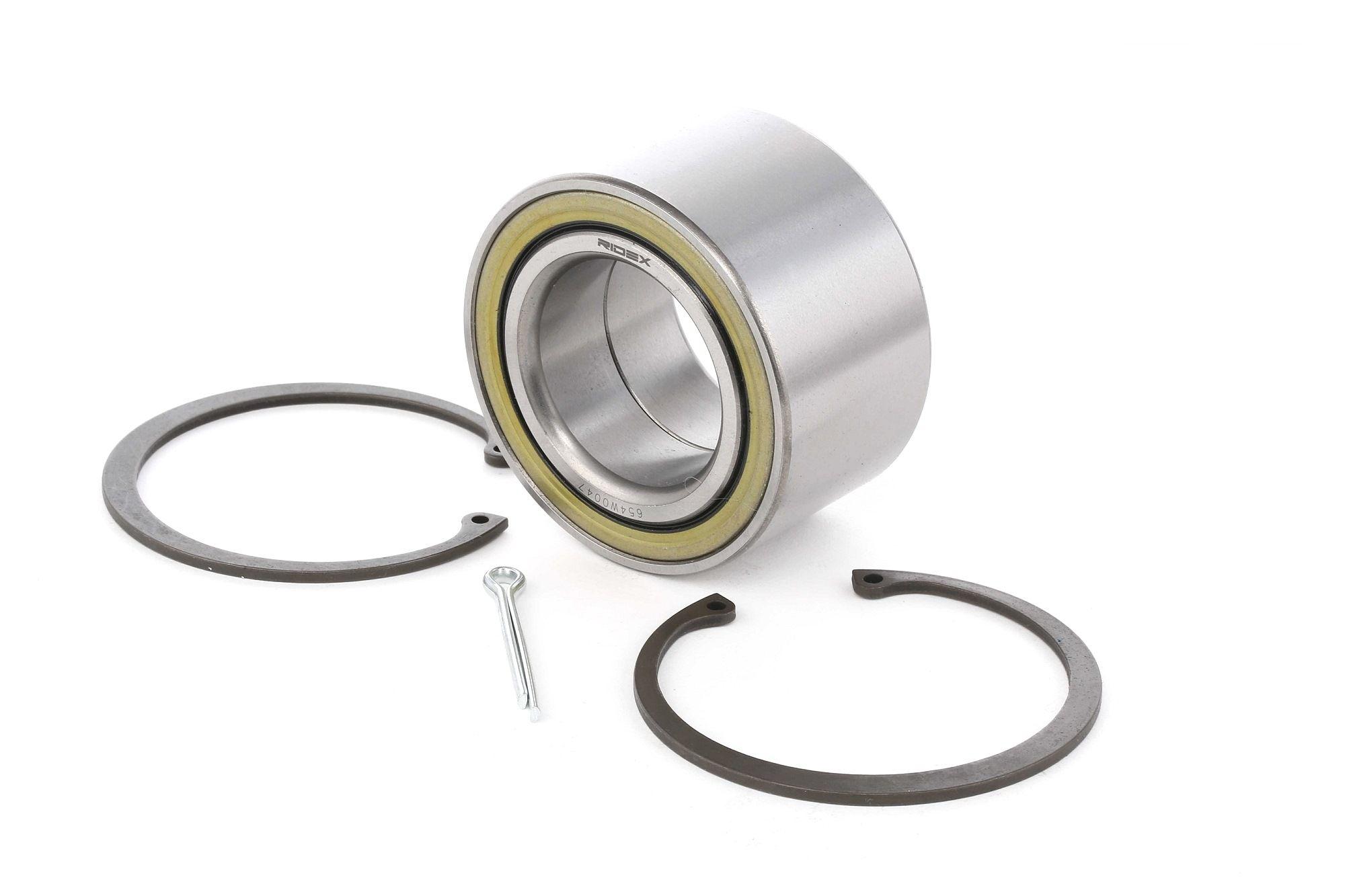 NISSAN ALMERA 2021 Radaufhängung & Lenker - Original RIDEX 654W0047 Ø: 76mm, Innendurchmesser: 43mm