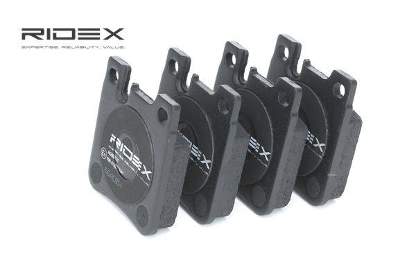Zestaw klocków hamulcowych, hamulce tarczowe RIDEX 402B0121 kupić i wymienić