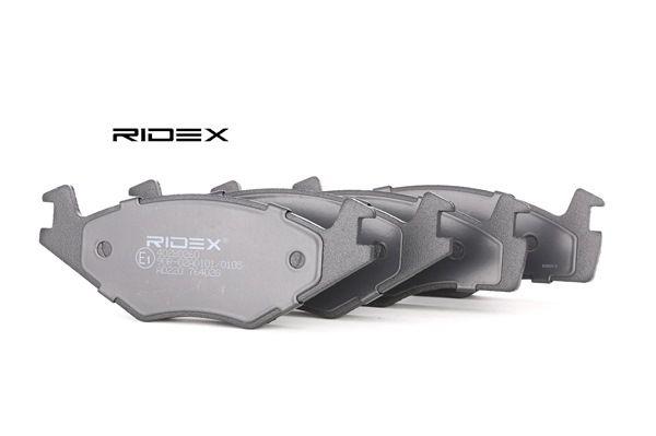 Comprar y reemplazar Juego de pastillas de freno RIDEX 402B0260