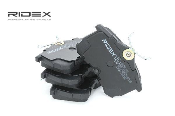 Compre e substitua Jogo de pastilhas para travão de disco RIDEX 402B0174