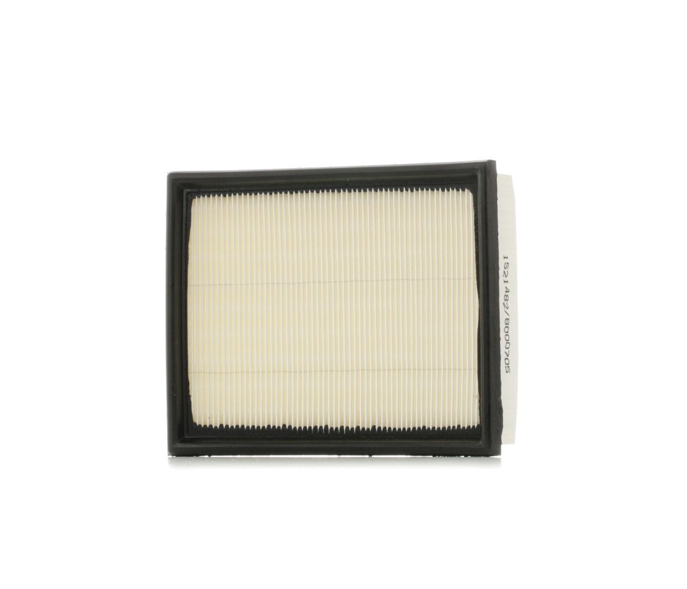 Zracni filter 8A0037 z izjemnim razmerjem med RIDEX ceno in zmogljivostjo