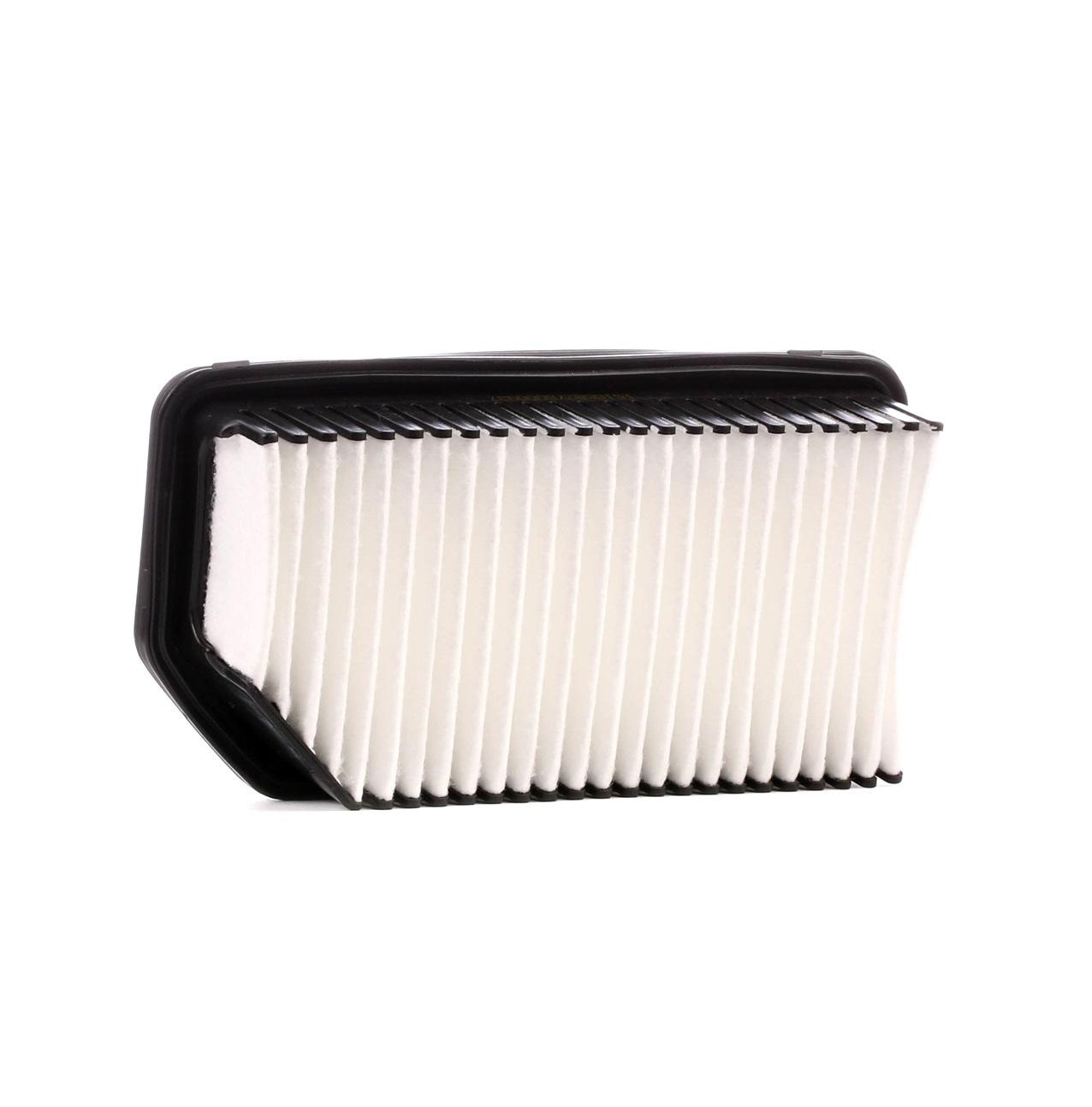 RIDEX: Original Luftfilter 8A0191 (Länge: 245,0mm, Länge: 245,0mm, Breite: 129,0mm, Höhe: 55,5mm)