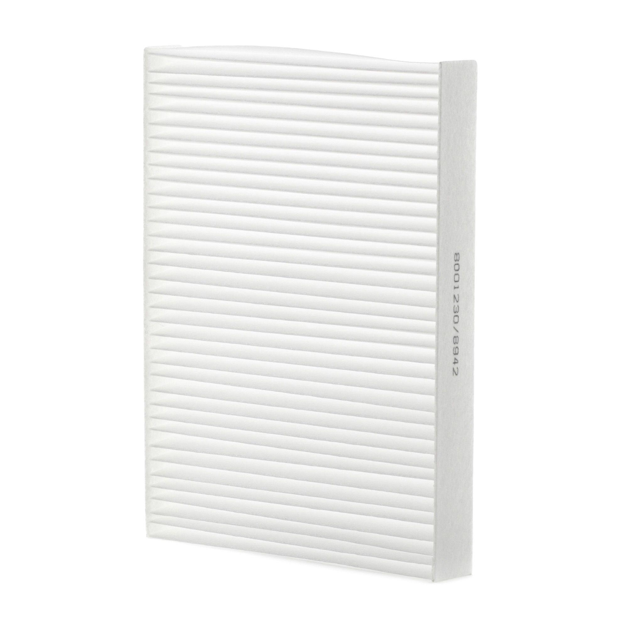 RIDEX: Original Klimafilter 424I0057 (Breite: 166mm, Höhe: 25mm, Länge: 215mm)