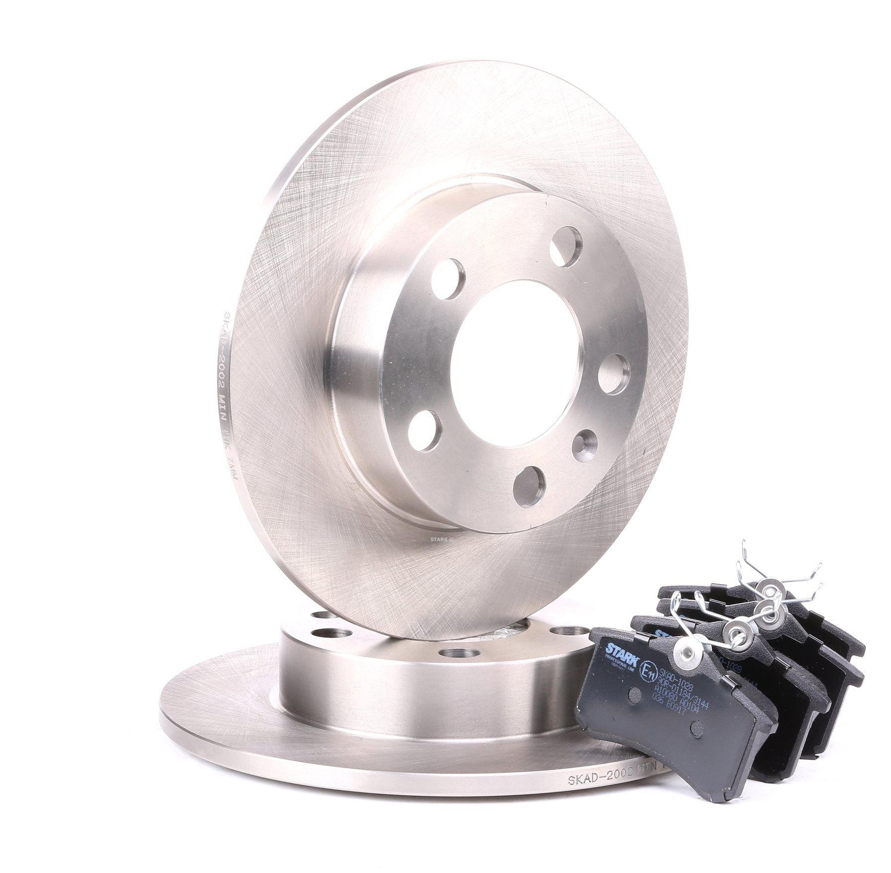 STARK: Original Bremsscheiben und Beläge SKBK-1090001 (Bremsscheibendicke: 9mm)