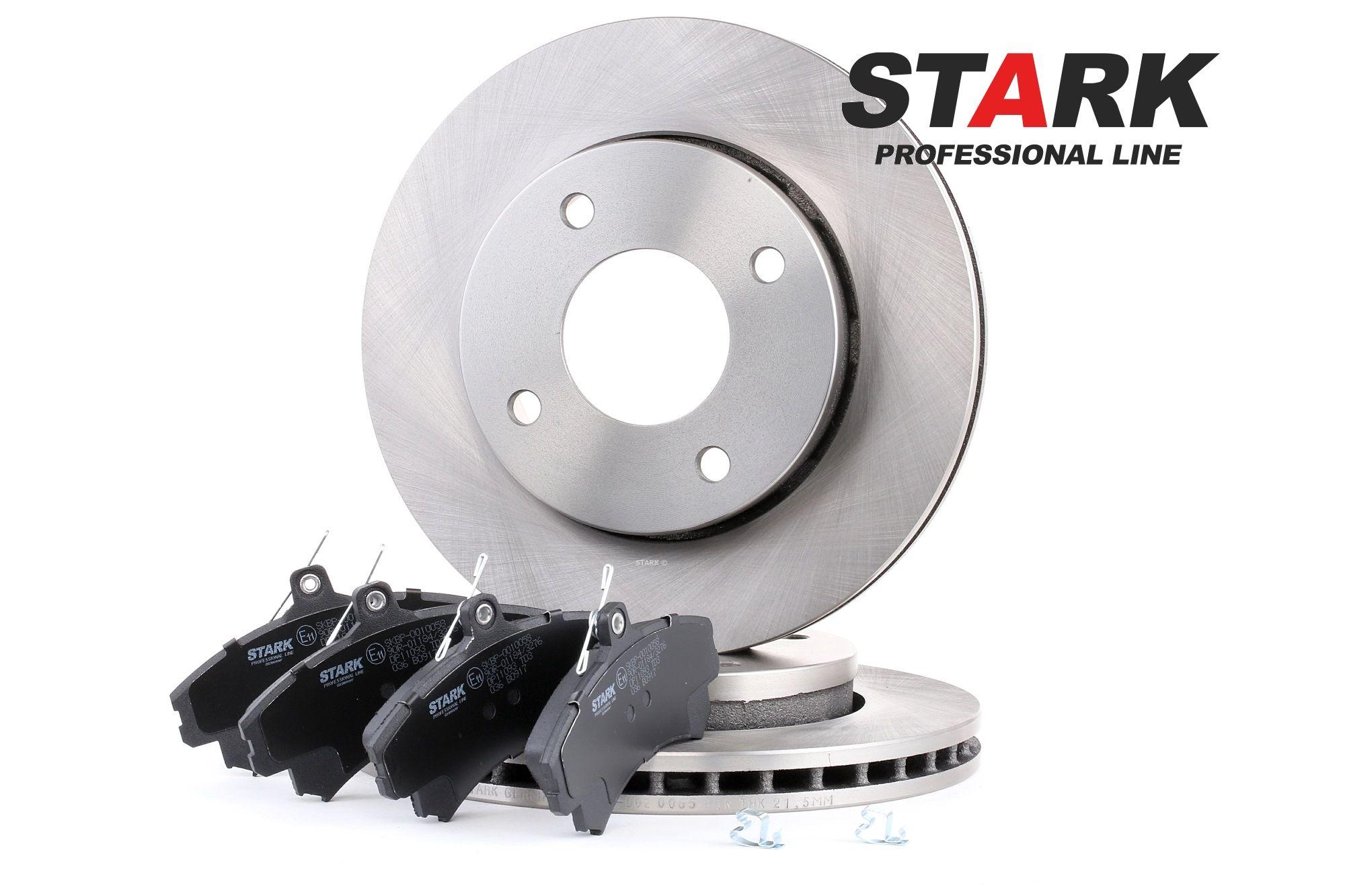 STARK: Original Bremsensatz SKBK-1090054 (Bremsscheibendicke: 24mm)
