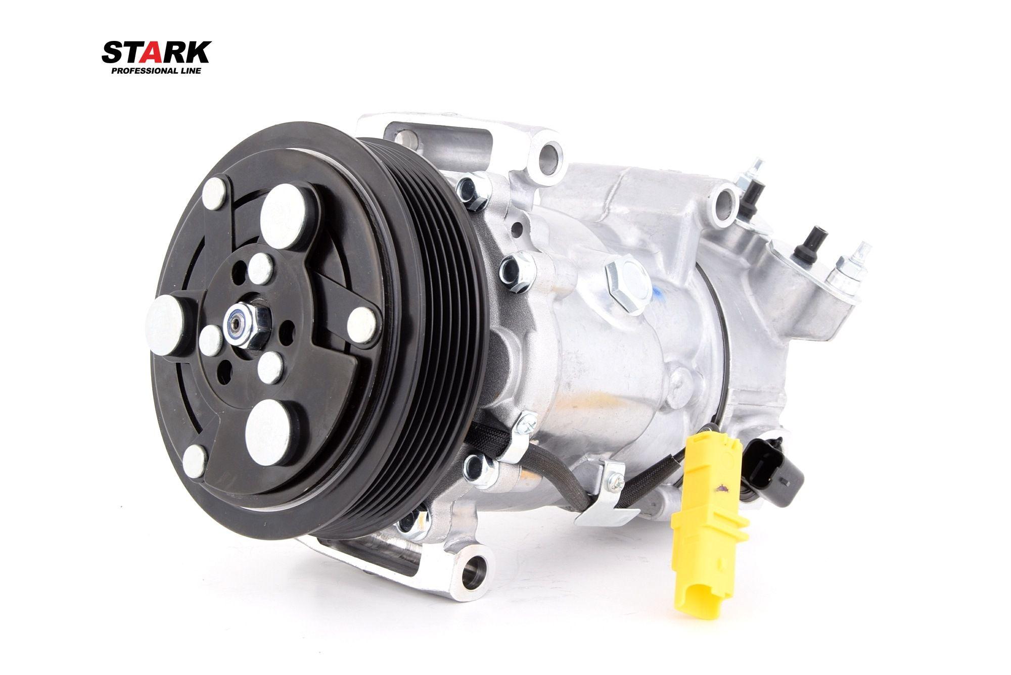 Origine Compresseur de climatisation STARK SKKM-0340062 (Poulies-Ø: 119mm)