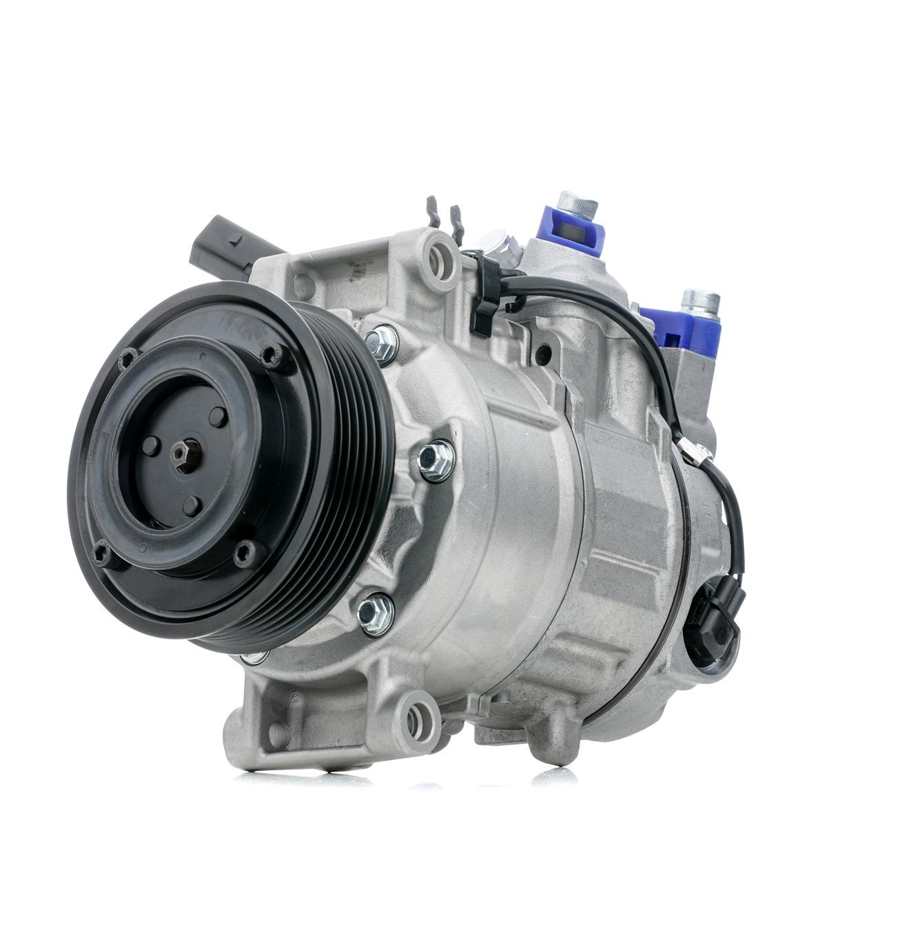 SKKM-0340079 STARK PAG 46, Kältemittel: R 134a Riemenscheiben-Ø: 100mm, Anzahl der Rillen: 6 Klimakompressor SKKM-0340079 günstig kaufen