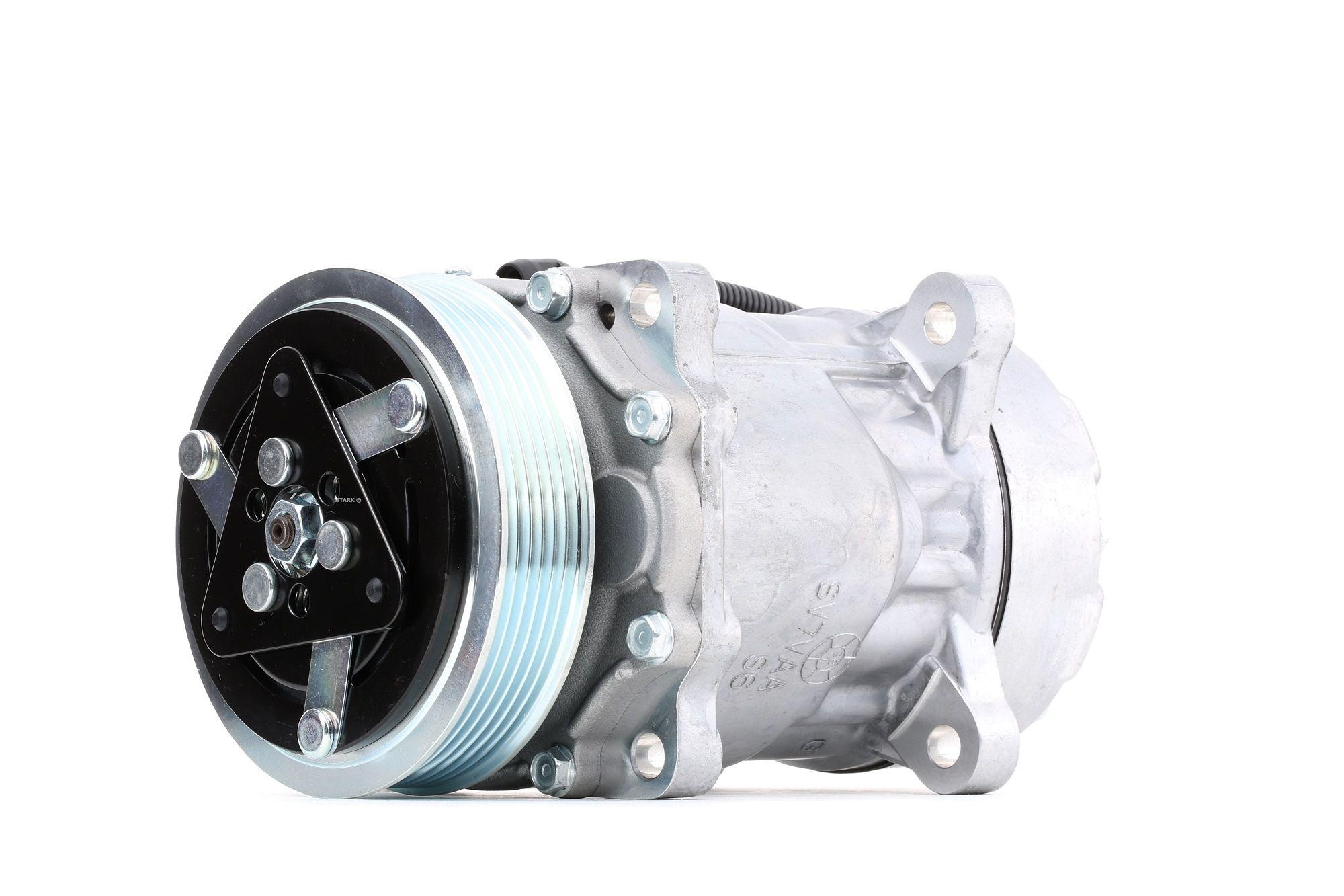 STARK: Original Klimakompressor SKKM-0340115 (Riemenscheiben-Ø: 119mm, Anzahl der Rillen: 5)