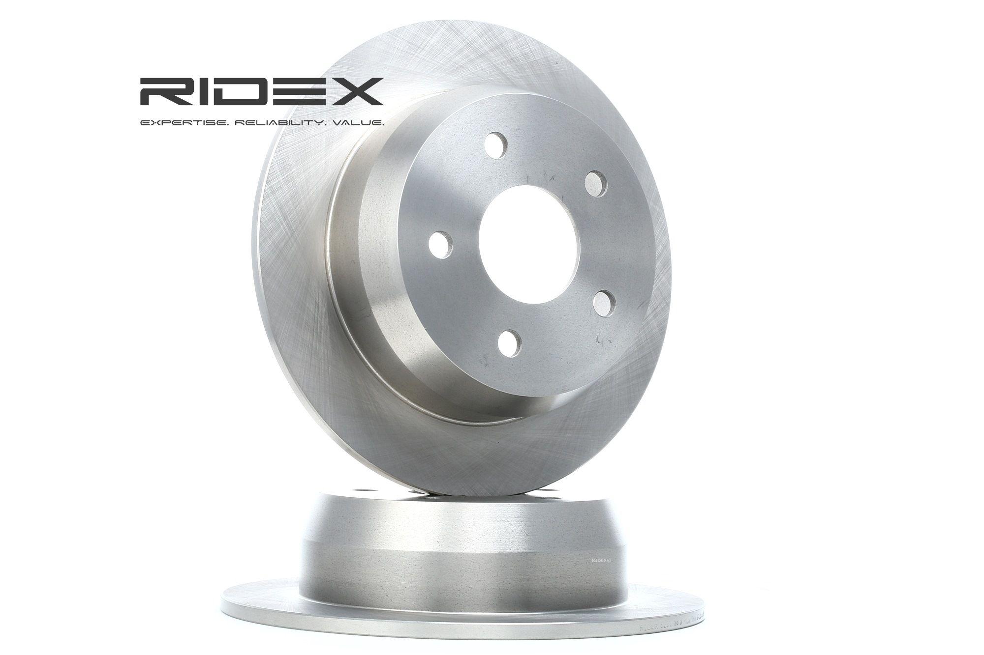 JEEP CHEROKEE 2021 Bremsscheibe - Original RIDEX 82B0186 Ø: 305,0mm, Lochanzahl: 5, Bremsscheibendicke: 10mm