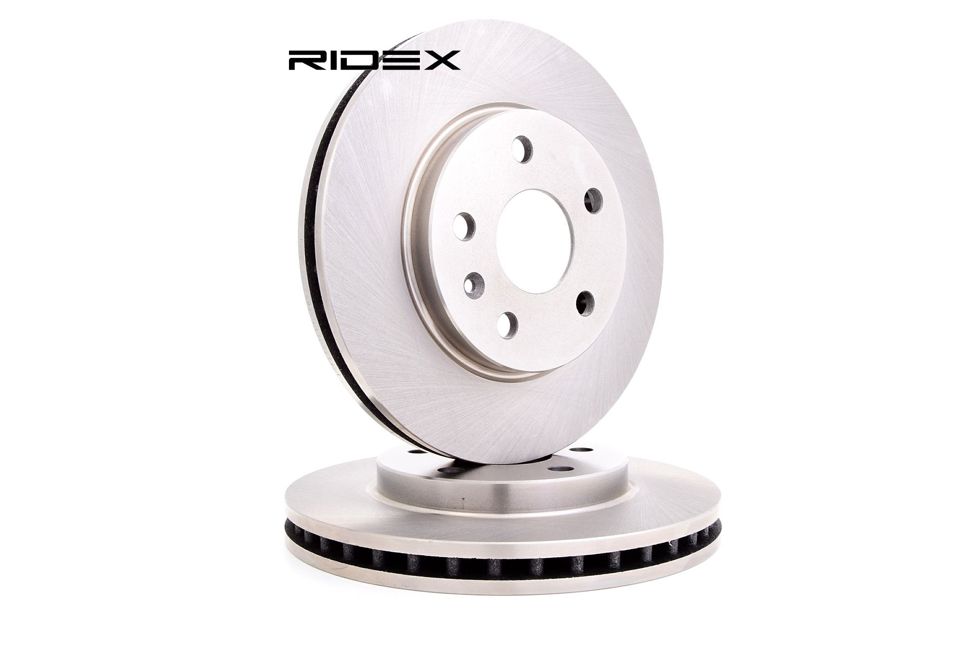 RIDEX: Original Tuning 82B0351 (Ø: 296,0mm, Felge: 5-loch, Bremsscheibendicke: 30mm)