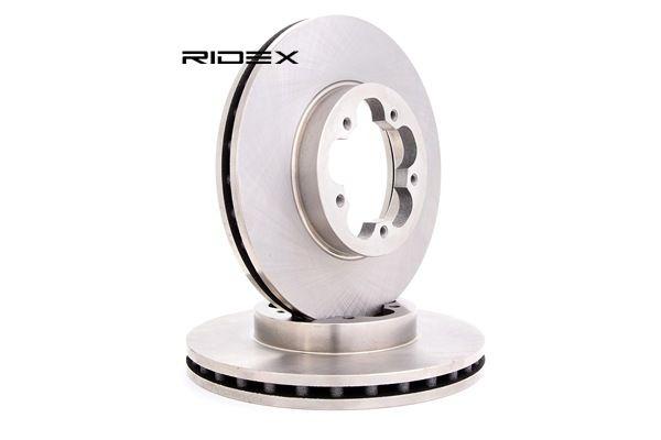 Bromsskiva 82B0297 som är helt RIDEX otroligt kostnadseffektivt