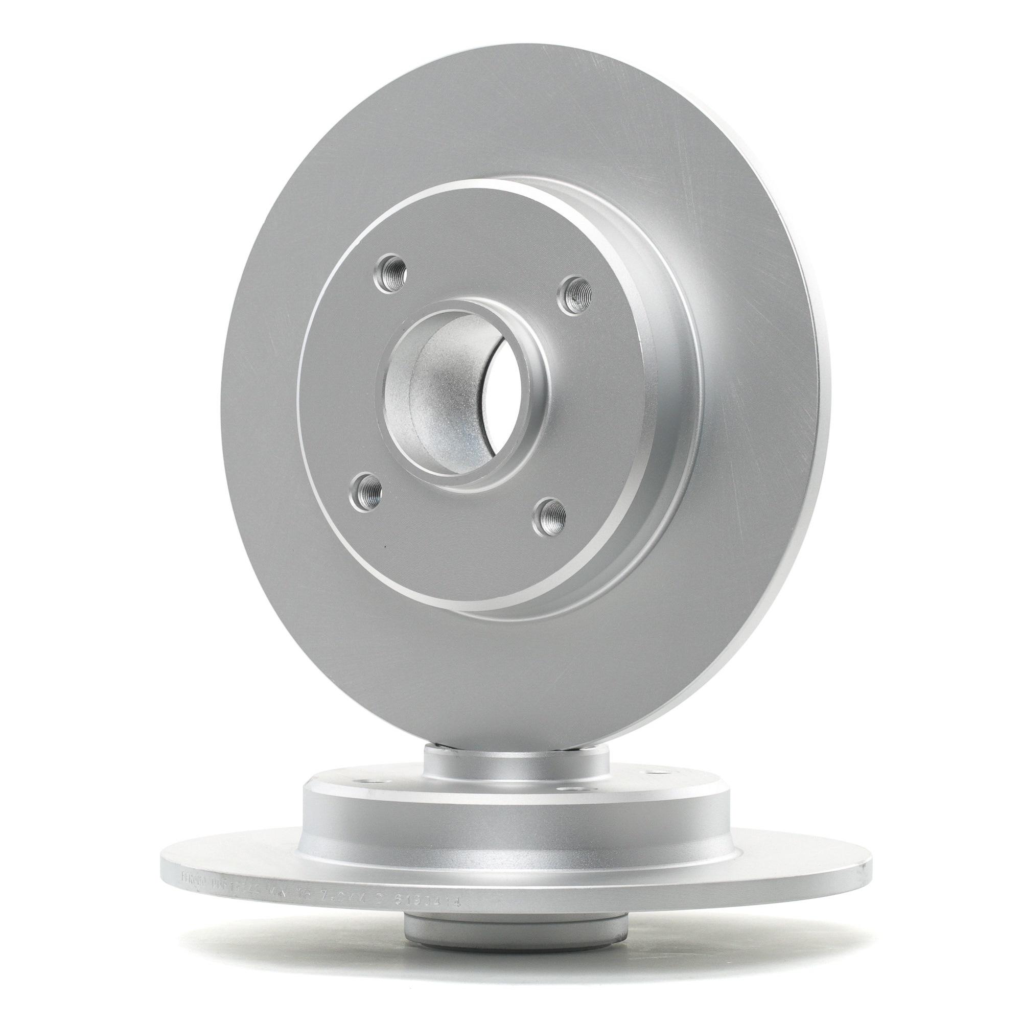 Achetez Disque de frein FERODO DDF1564C-1 (Ø: 249mm, Nbre de trous: 4, Épaisseur du disque de frein: 9mm) à un rapport qualité-prix exceptionnel
