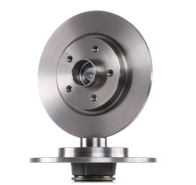 Disco de travão 82B0649 com uma excecional RIDEX relação preço-desempenho