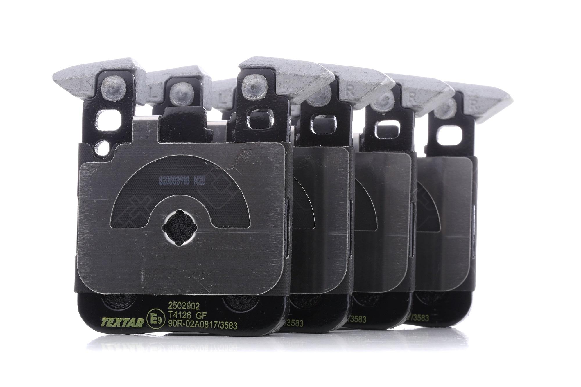 Bremssteine TEXTAR 2502902