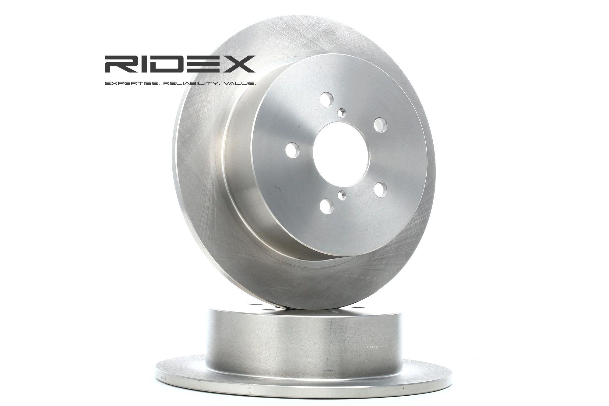 RIDEX: Original Scheibenbremsen 82B0356 (Ø: 274,0mm, Bremsscheibendicke: 10mm)