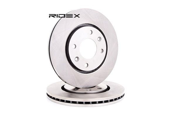 Brake Disc 82B0458 with an exceptional RIDEX price-performance ratio
