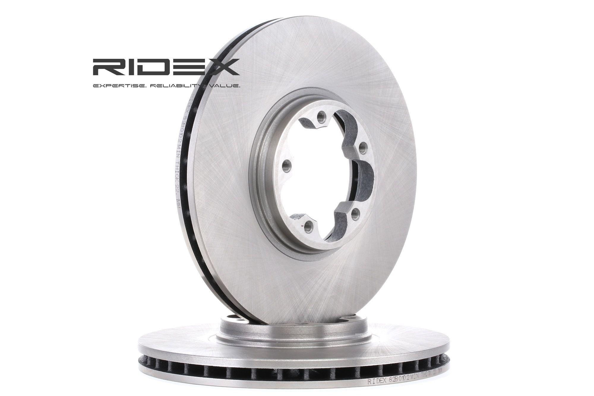 Bremsscheiben RIDEX 82B0102