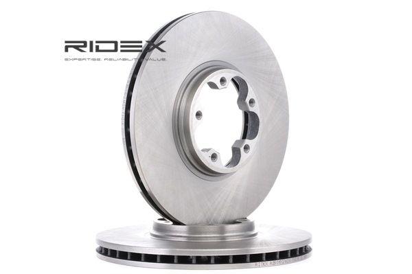 Bremsscheibe 82B0102 mit vorteilhaften RIDEX Preis-Leistungs-Verhältnis