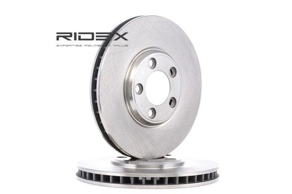 buy and replace Brake Disc RIDEX 82B0574