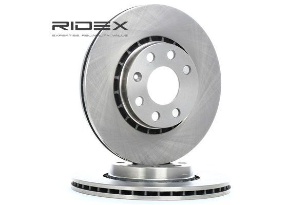 Disco de travão 82B0452 com uma excecional RIDEX relação preço-desempenho