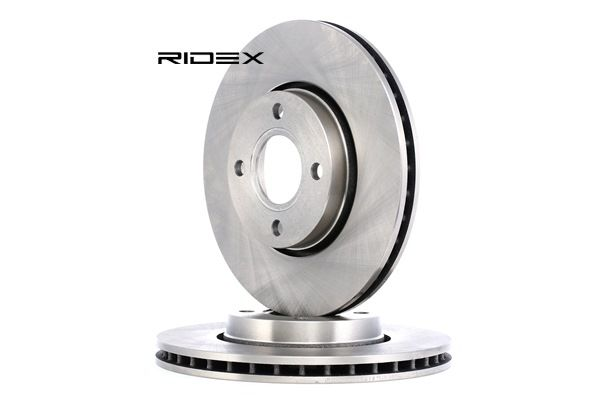 Brake Disc 82B0319 with an exceptional RIDEX price-performance ratio