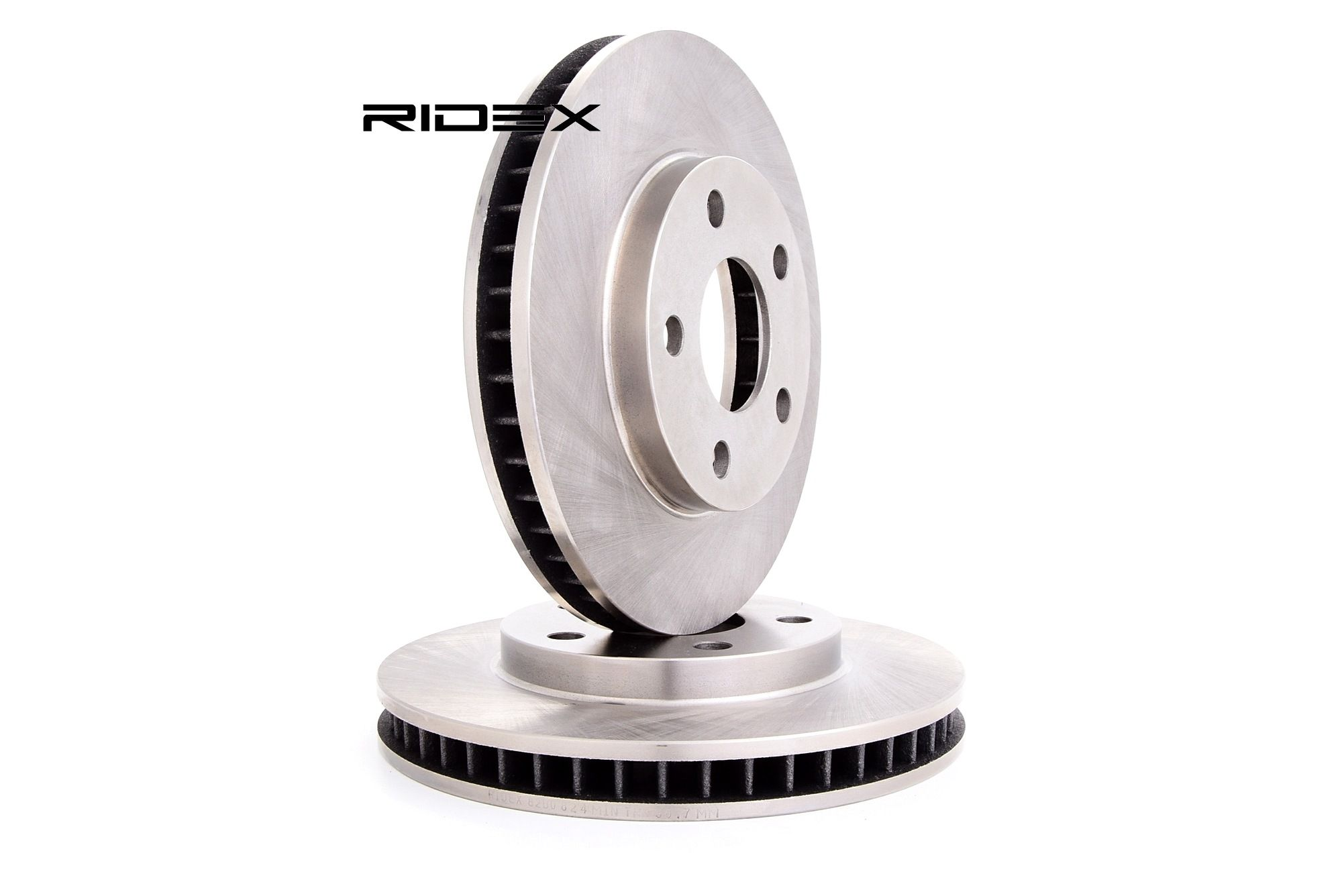 RIDEX: Original Bremsscheibe 82B0824 (Ø: 278mm, Lochanzahl: 5, Bremsscheibendicke: 32,0mm)