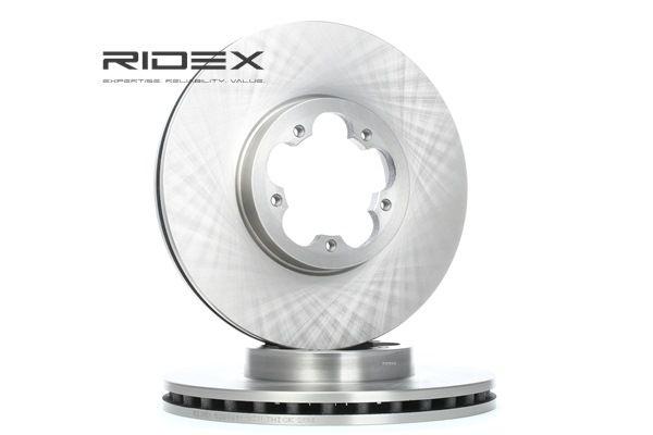 Bromsskiva 82B0481 som är helt RIDEX otroligt kostnadseffektivt
