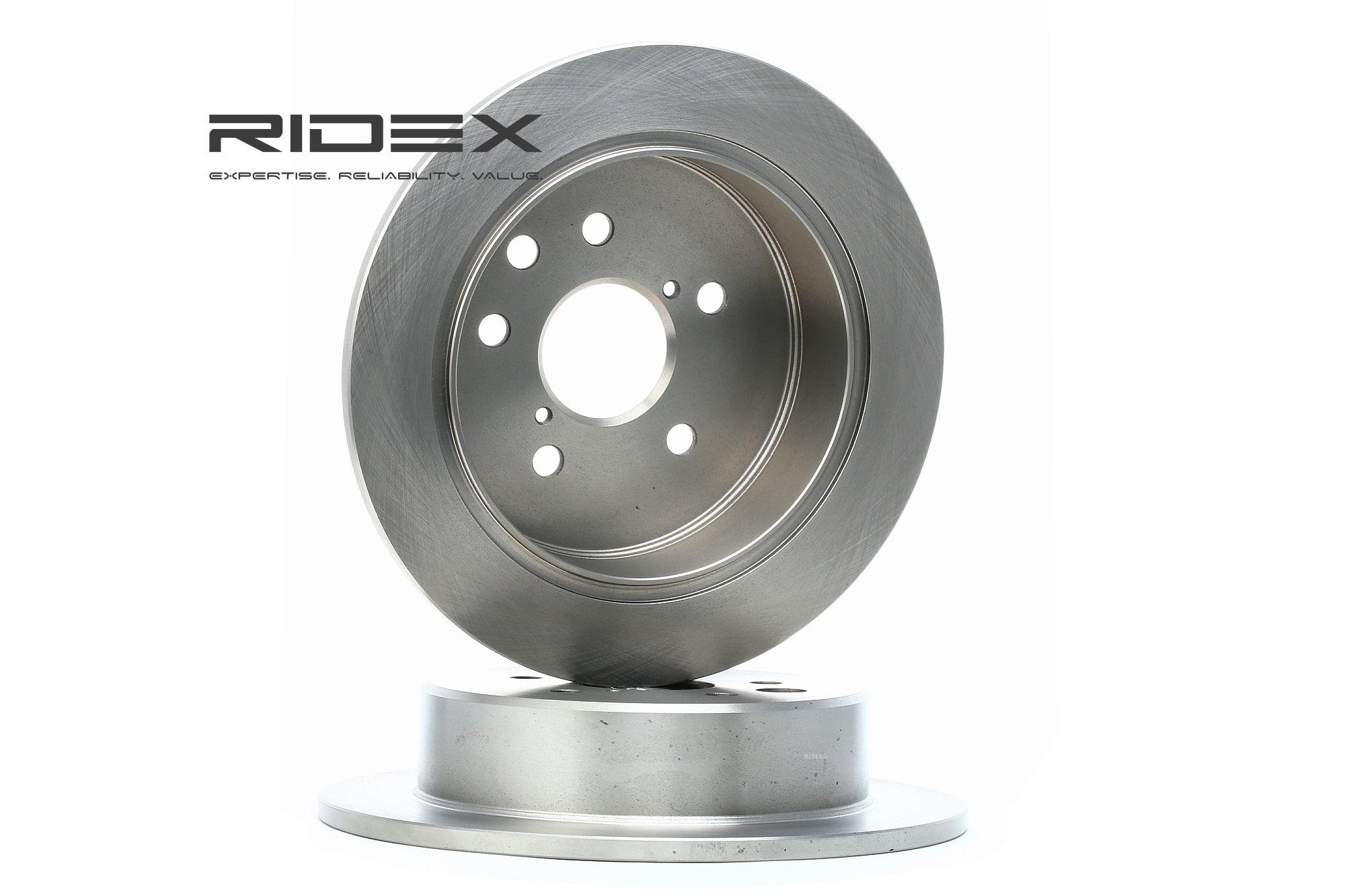 Image of RIDEX Dischi Freno LEXUS 82B0604 4243130300,4243130280 Freni a Disco,Dischi Dei Freni,Disco freno