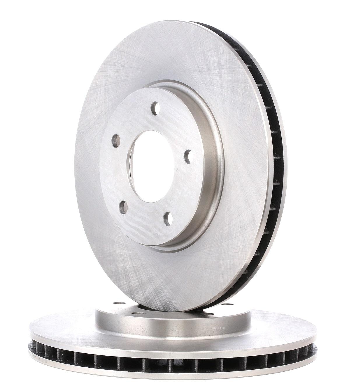 JAGUAR XK 2014 Bremsscheibe - Original RIDEX 82B0891 Ø: 305,0mm, Lochanzahl: 5, Bremsscheibendicke: 28mm