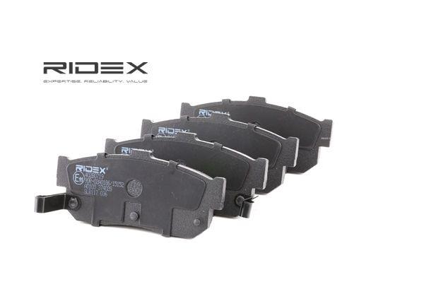 set placute frana, frana disc RIDEX 402B0719 cumpărați și înlocuiți