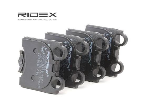 Koop en vervang Remblokkenset, schijfrem RIDEX 402B0468