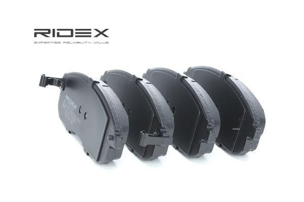 set placute frana, frana disc RIDEX 402B0497 cumpărați și înlocuiți