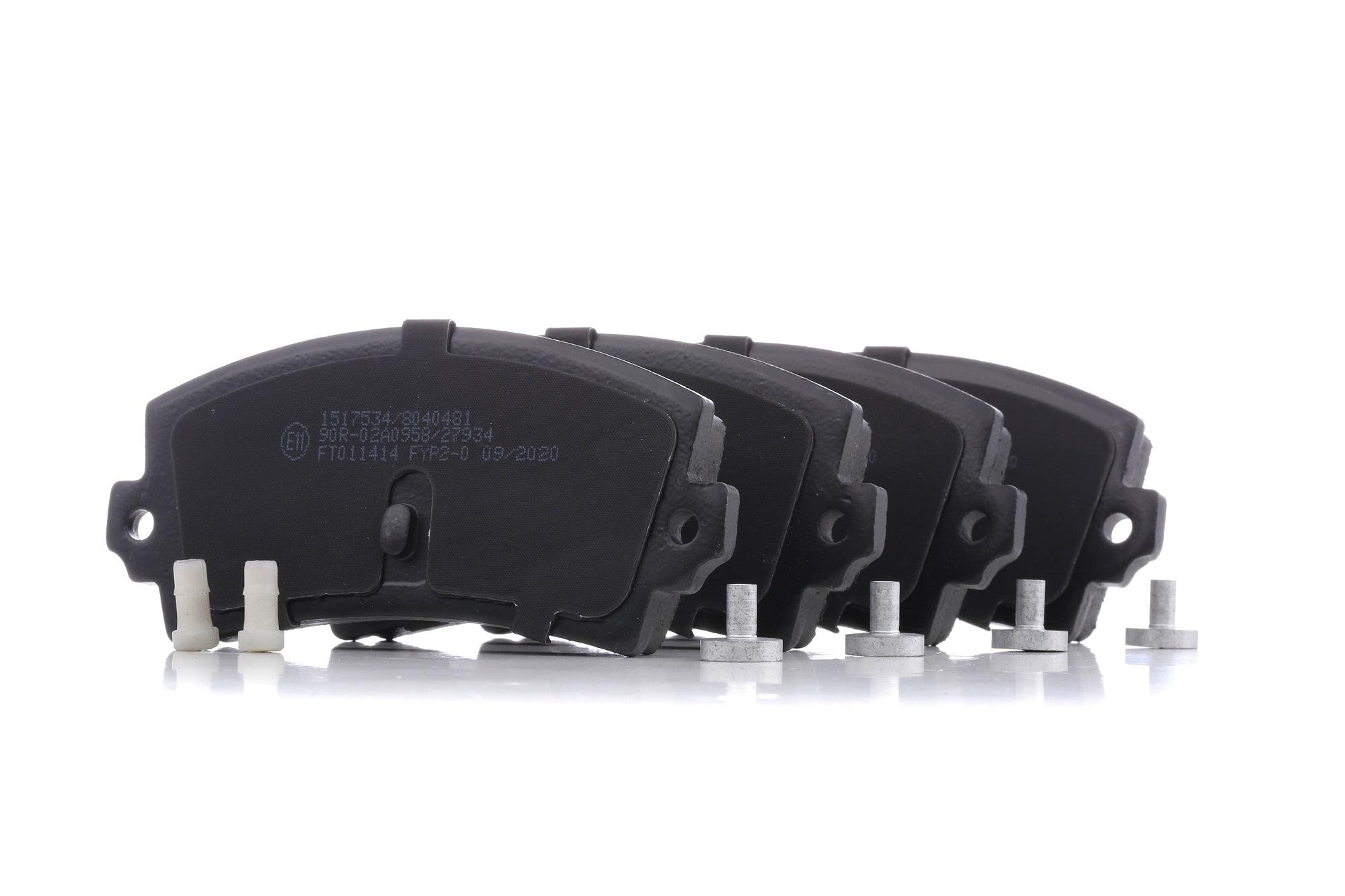 Achetez Système de freinage RIDEX 402B0541 (Hauteur 1: 49,3mm, Largeur 1: 109,8mm, Épaisseur 1: 14mm) à un rapport qualité-prix exceptionnel