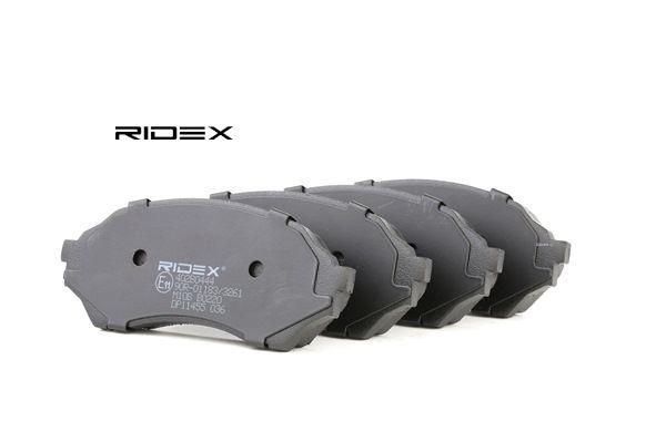 buy and replace Brake Pad Set, disc brake RIDEX 402B0444