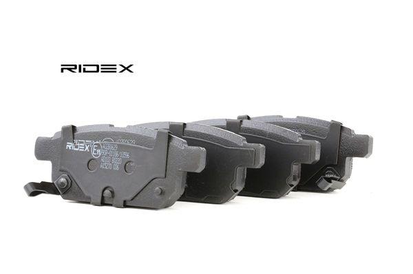 set placute frana, frana disc RIDEX 402B0629 cumpărați și înlocuiți
