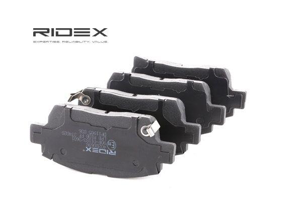 Koop en vervang Remblokkenset, schijfrem RIDEX 402B0698