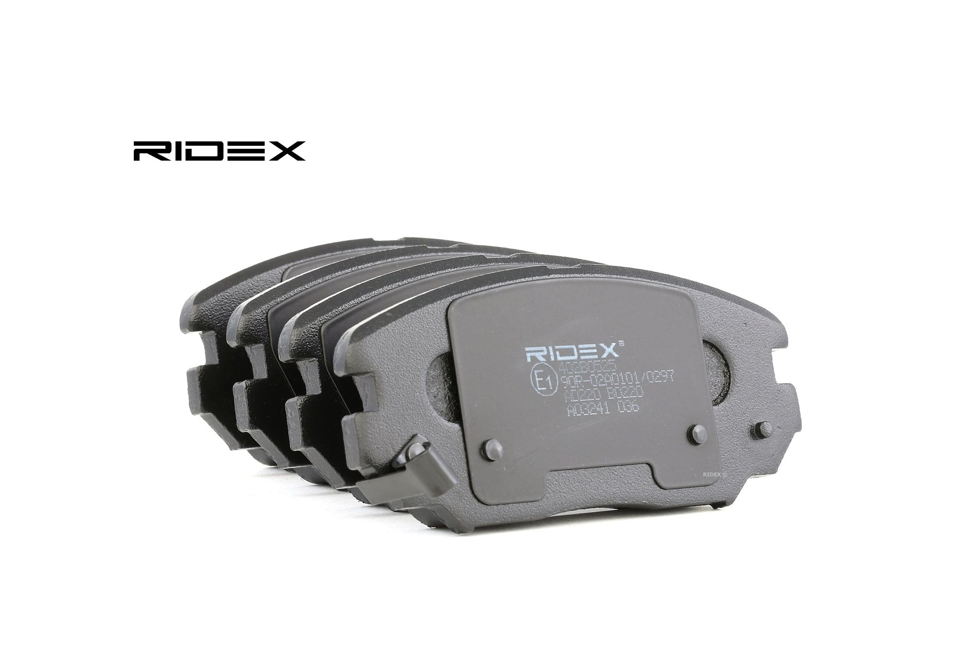 KIA OPIRUS 2020 Bremsbelagsatz - Original RIDEX 402B0525 Höhe: 60,1mm, Dicke/Stärke: 17,5mm